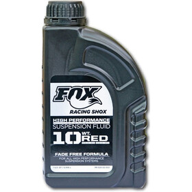 Fox Racing Shox Suspension Öl 10 wt, Red, 946ml
